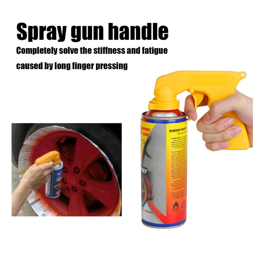 Portable Spray Airbrush Paint Gun Aerografo Pistola De Pintura Airless Handle Plastic Automatic Lacquer Hub Adaptor