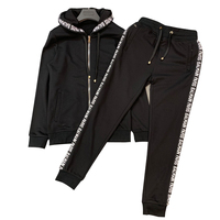 2020Hoodie With Zippe Tracksuit Mercerized Cotton Balmein For Men's Set High Quality Product France Eden Luxury Brand Park Cloth