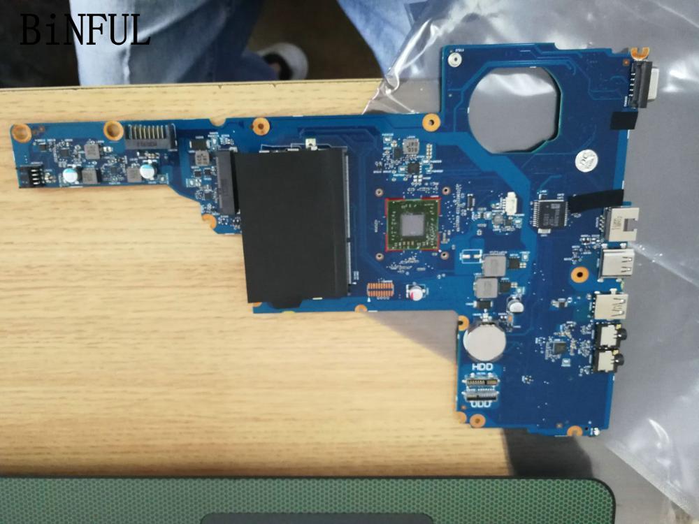 BiNFUL STOCK promis travail carte mère d'ordinateur portable pour HP 2000 ordinateur portable avec processeur à bord UMA A4-5000 (pas de réparations)