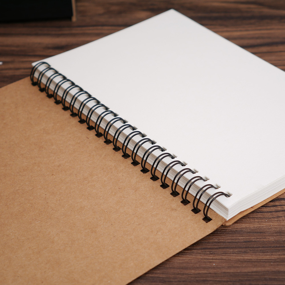 Sketchbook Diary Notebook For Drawing Painting Graffiti Soft Cover Black Paper Sketch Book Memo Pad Material Escolar Note Book