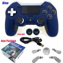 HOT-for PS4 Gamepad Dual Vibration Elite for PS4 BT Wireless Game Controller Joystick for PS4 Video Gaming Console and for PS3