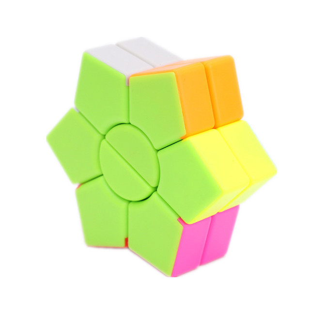 Jiehui Hexagram two-layer Square Hexagon Speed Magic Cube Twist Puzzle Educational Colorful Puzzle Professional 5