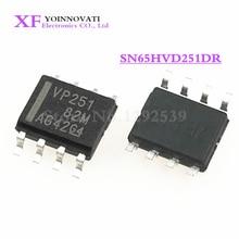 50 قطعة/الوحدة SN65HVD251DR SN65HVD251 65HVD251 VP251 SOP8