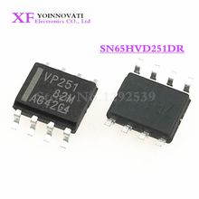 50pcs/lot SN65HVD251DR SN65HVD251 65HVD251 VP251 SOP8