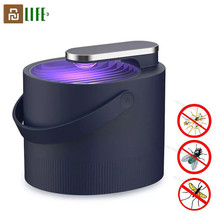 Youpin Lámpara antimosquitos 3life repelente para mosquitos fotocatalizador eléctrico USB, trampa para insectos, luz inteligente UV