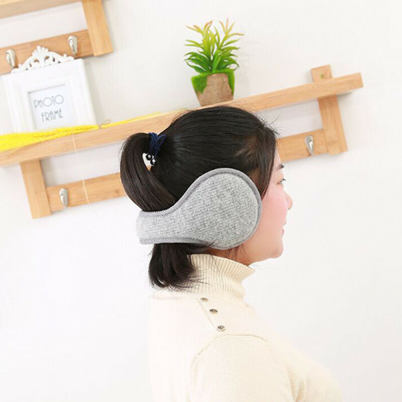 Ear Muffs Earmuffs Ear Warmer Head Band Adjustable Lady Men Girls Boys Winter