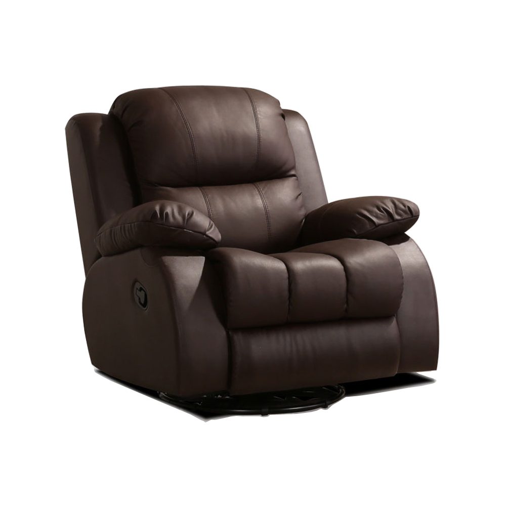Living Room Chair cadeira poltrona genuine leather chair sillas fauteuil silla sillon rocking manual recliner rotated armchair