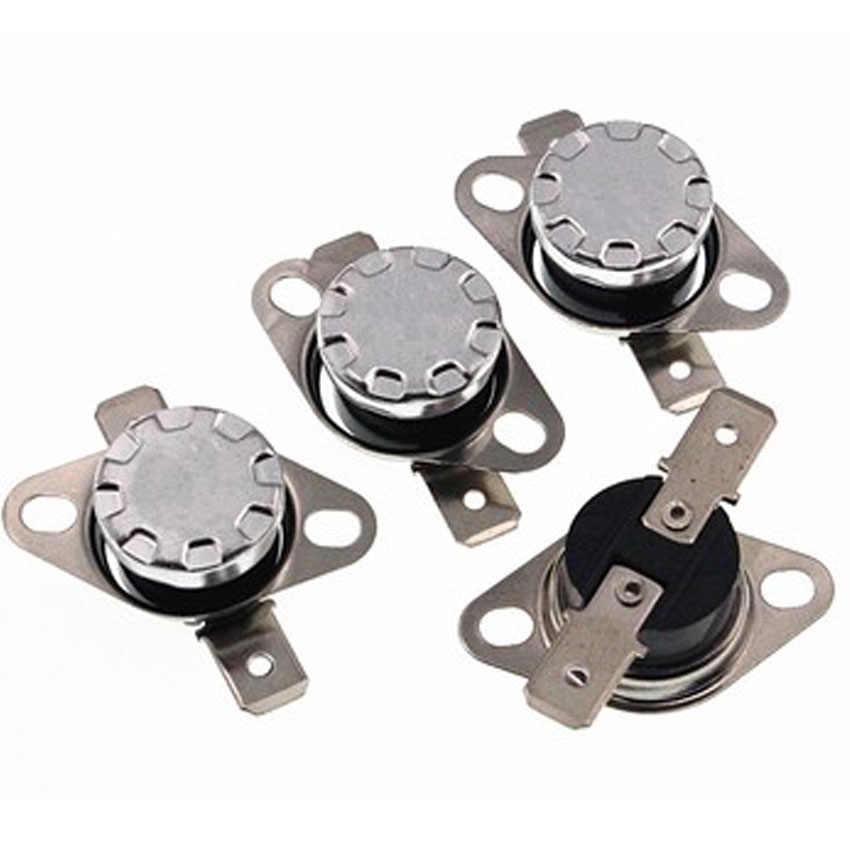 Durevole salto Improvviso 250V 10A termostato di protezione termica di 125 gradi normalmente chiuso interruttore di controllo della temperatura KSD301 10pcs