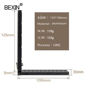 Image 3 - Bexin universal Lengthen L Shape Vertical Shooting Quick Release L Plate Bracket Grip 1/4 screw For Nikon conan sony DSLR Camera