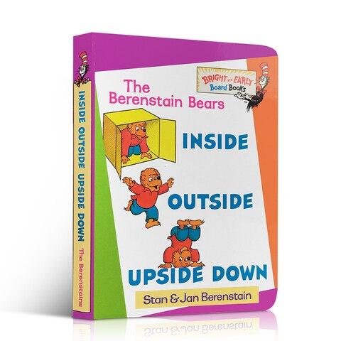 livro de imagens aprendendo ingles berenstain ursos dentro de fora de cabeca para baixo para
