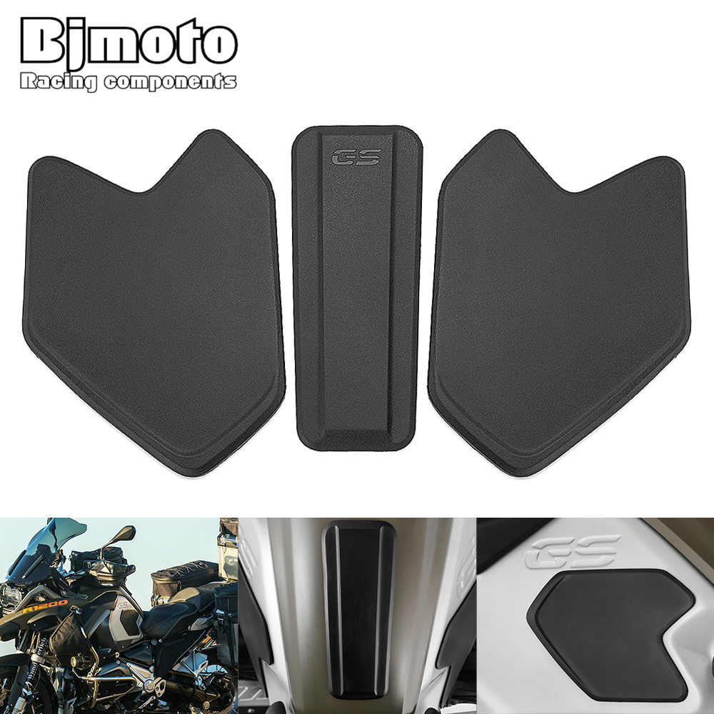 R 1200GS Motorcycle Gas Tank Pad <font><b>Sticker</b></font> Protecter For <font><b>BMW</b></font> R1200GS R 1200GS R <font><b>1200</b></font> <font><b>GS</b></font> ADV 2014-2019 Tank Protective Pad Side image