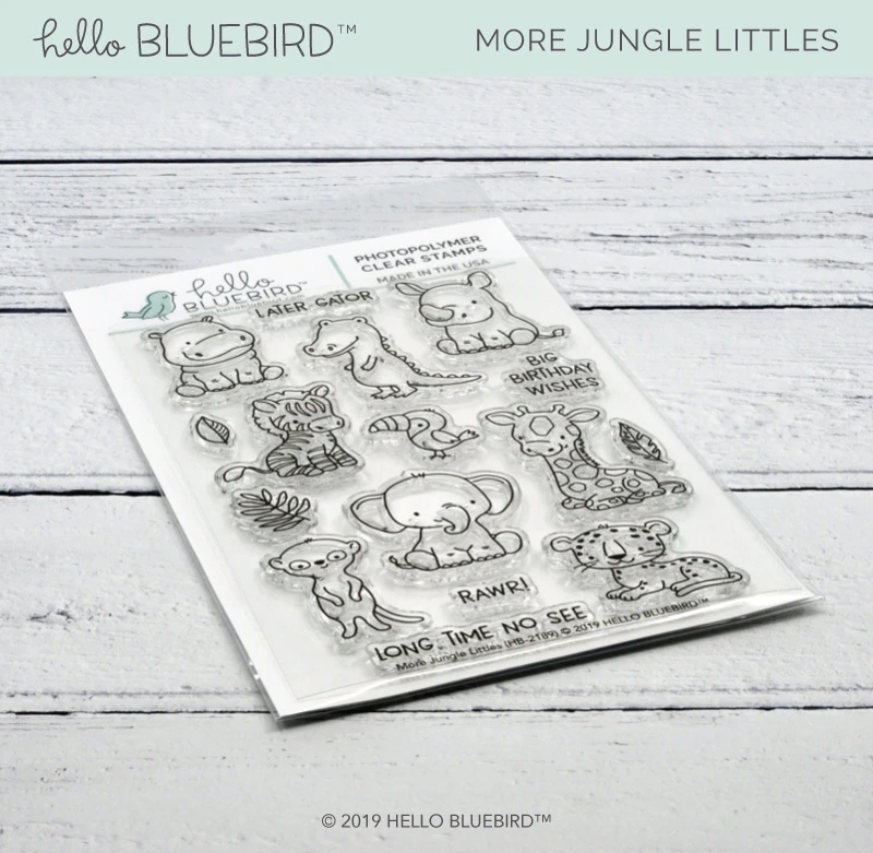 Various Animals Metal Cutting Dies And Clear Stamps DIY Scrapbooking Card Stencil Paper Card Album Decoration Paper