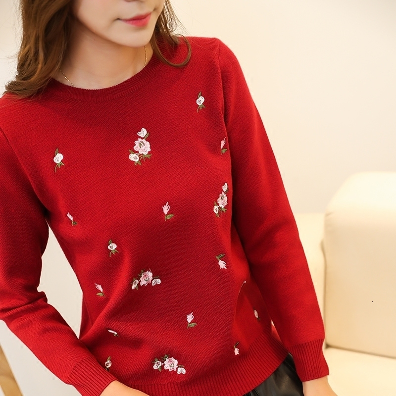 2019 Fenshinu New Sweater Female Korean All-match Loose Long Sleeved Pullover Comfort