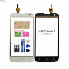 5''Mobile Touch Screen For SFR Startrail 6 Touch Screen Digitizer Touch Sensor Panel For SFR Startrail 6 Front Glass Replacement