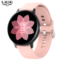 LIGE-reloj inteligente P8 para hombre y mujer, accesorio de pulsera resistente al agua con pantalla a Color, seguimiento de actividad deportiva, presión arterial, compatible con Xiaomi