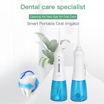 3 Modes Cordless Dental Oral Irrigator Portable Water Dental Flosser Portable And Rechargeable Waterproof Water Flosser