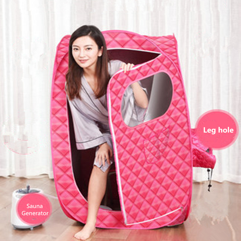 Portable Steam Sauna Bath for Health and Beauty Spa at Home Lose Weight Detox Therapy Steam Fold Sauna Cabin 4