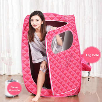 Sauna Generator For Sauna SPA larger Tent Portable STEAM BATH Lose Weight Detox Therapy Steam Fold Sauna Cabin