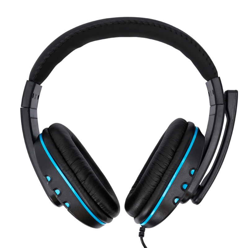 3.5mm Wired Gaming Headset Deep Bass Game Earphone Professional Gamer Headphones With Microphone for PC Computer PS4