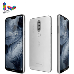 Мобильный телефон Nokia 6,1 Plus Nokia X6, Android 4G, 5,8-дюймовый экран FHD +, 4 Гб + 64 ГБ, Snapdragon 636 восемь ядер, разблокированный смартфон с распознаванием отпе...