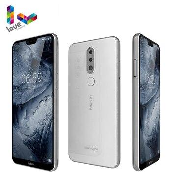 Перейти на Алиэкспресс и купить Разблокированный смартфон Nokia 6,1 Plus, Nokia X6, Android, 4G, телефон с экраном диагональю 5,8 дюйма FHD +, 4 Гб ОЗУ, 64 Гб ПЗУ, восьмиядерным процессором Snapdragon ...