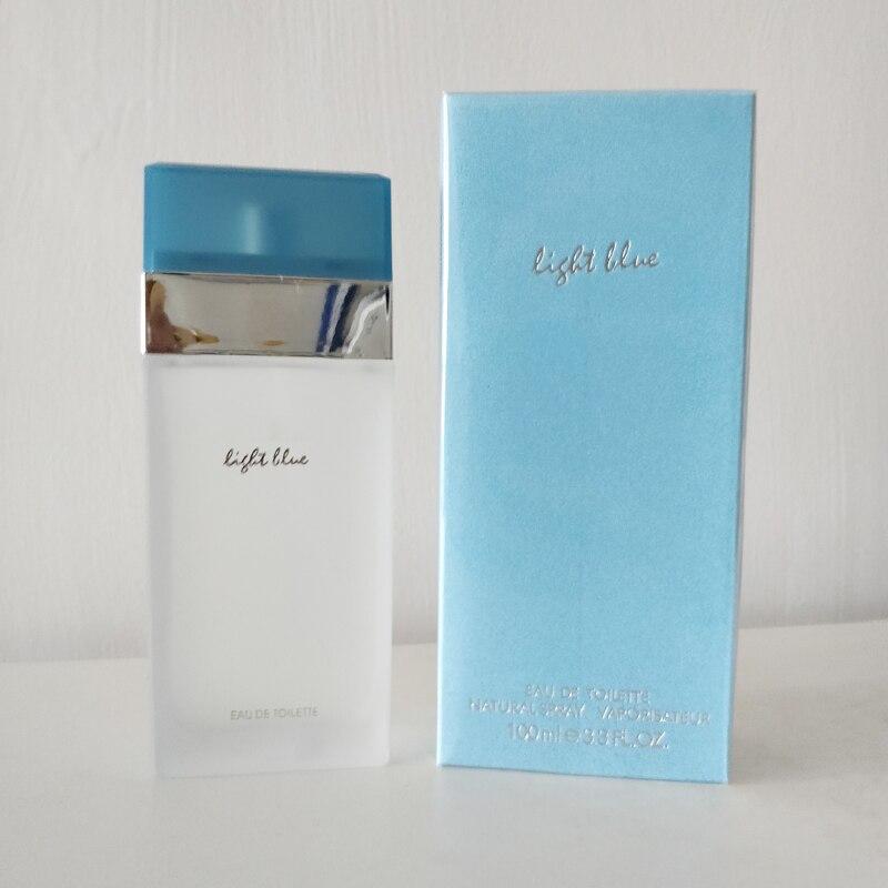 100ML Perfume For Women Atomizer Bottle Glass Fashion Female Eau De Toilette Original Parfum Long Lasting Flower Fragrance