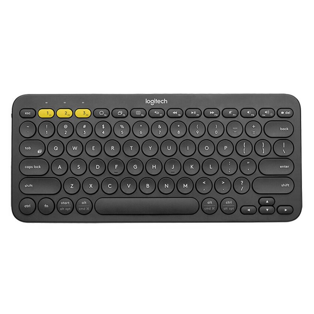 Logitech K380 Multi Device Bluetooth Wireless Keyboard Ultra Mini Mute for Mac Chrome OS Windows for iPhone iPad AndroidKeyboards   - AliExpress