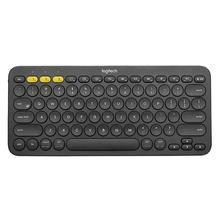Logitech K380 çok aygıtlı Bluetooth kablosuz klavye Ultra Mini dilsiz Mac krom OS Windows iPhone iPad Android için