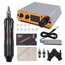 Tattoo-Machine-Kit Power-Supply Permanent for Eyeliner Lip Makeup-Device Professional