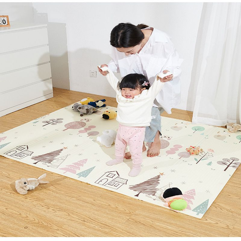 Play Mat Baby Playmat Xpe Puzzle Mat Children's Mat Baby Room Rug Crawling Pad Foldable Mat Baby Carpet