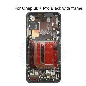 "Image 4 - 6.67 ""ل OnePlus 7 برو LCD AMOLED شاشة عرض + محول رقمي يعمل باللمس مع الإطار ل OnePlus 7T برو LCD"