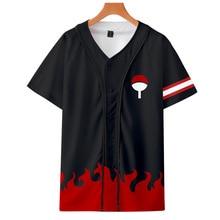 High quality Cool T-shirt Men or Women hot 3d Print Naruto Loose Short Sleeve Summer Hot style baseball uniform t-shirt