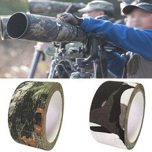 Camouflage Adhesive Tape Woodland Cloth Duct Tapes Military Bionic Rifle Un Wrap