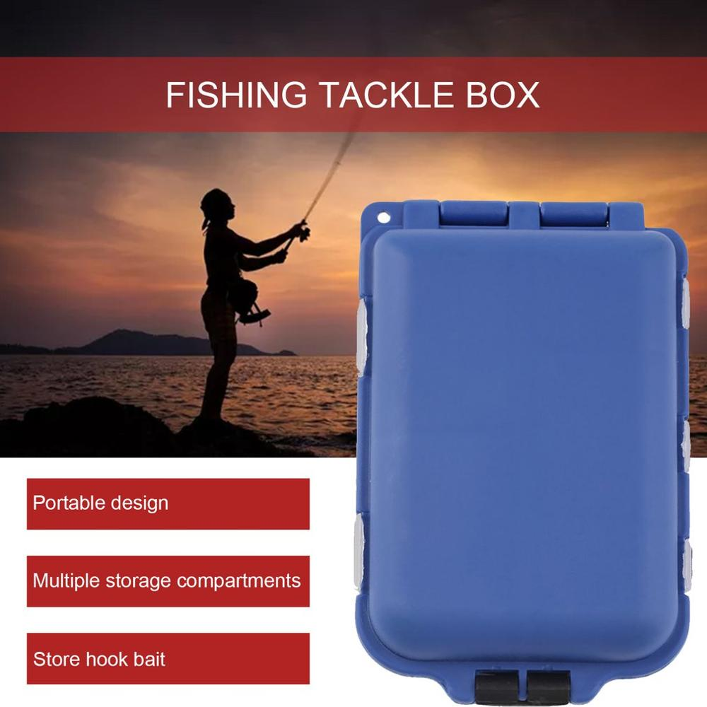 10 Compartments Fishing Tackle Box Lure Hook Rig Bait Plastic Storage Case