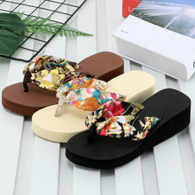 Female Slippers Platform Beach-Shoes Fashion Summer High-Heeled Casual Women's New