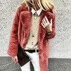 Plus Size Plush Coat...