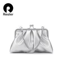 REALER shoulder Bags for women 2019 female evening clutch cr