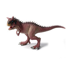 Dinosaurs World Carnotaurus Animals Mouth Can Open Model Action Figures PVC Toy for Kids Gift