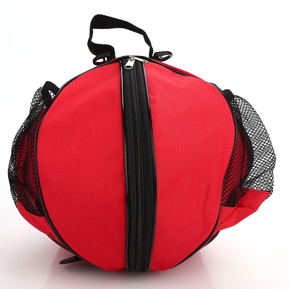 Одеяло шариковый аппликатор баскетбольная сумка Открытый 7 цветов Ткань Оксфорд Футбольная сумка футбольный рюкзак портативный - Цвет: red cloth black side