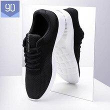 De xiaomi youpin 90 pontos esportes luz respirável sapatos casuais confortáveis tênis de corrida fitness caminhadas ao ar livre para o homem