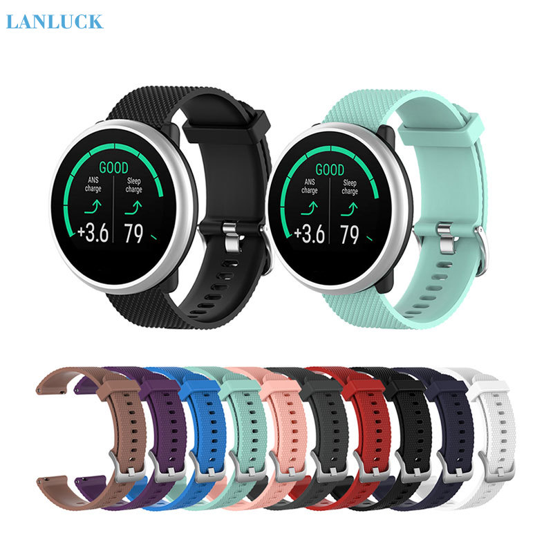 Watchband Wristband for Polar Ignite Garmin Vivoactive3 Forerunner 245 645 Smart Watch Strap Silicone Watch Band Sport Bracelet