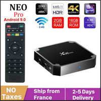 Autentico NEO TV Pro X96mini Smart TV Box Android 9.0 media Player s905w Quad Core 16G Full HD x96 mini Neotv pro 2 Set Top Box