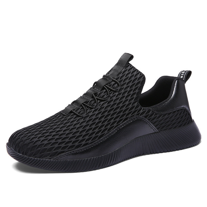 New Style Mesh Sport Wear for <font><b>Men</b></font> <font><b>Sneaker</b></font> <font><b>2019</b></font> Summer Mens Casual Breathable Korean Version <font><b>Fashion</b></font> <font><b>Trend</b></font> <font><b>Man</b></font> Slip On Board Shoe image