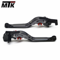 for SUZUKI GSR750/GSX S750 2011 2016 Accessories Adjustable Folding Extendable Brake Clutch Levers Free Shipping