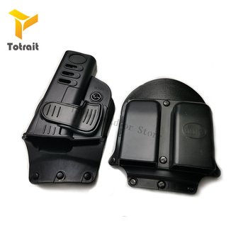 TOtrait NEW Tactical GL 2 Paddle Pistol Holster Glock 17 19 22 23 31 32 34 35 6900 Double Magazine Holster Pouch Fifle Accessies unbrand glock 17 18 19 23 32 36 tactical holster