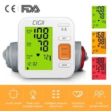 Automatic Tonometer Arterial-Pressure Monitor Measuring Upper-Arm Digital