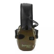 Protecteur d'oreille Anti-bruit Impact casque de Protection auditive, casque antibruit de tir électronique, réducteur de bruit de chasse
