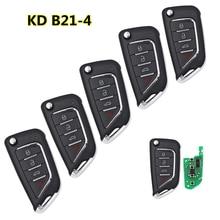5 шт./лот KEYDIY KD B21-4 серии B пульт дистанционного управления многофункциональный для KD900/KD MINI/KD-X2 ключ программист пульт дистанционного управле...