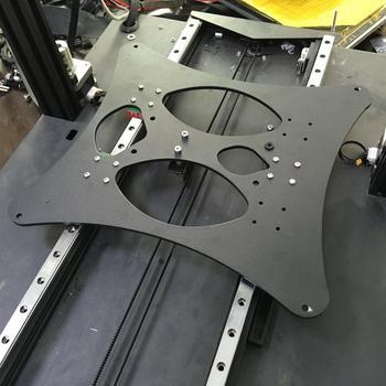 Funssor Creality CR-10 Pro drukarka 3D oś Y Hiwin MGN12H zestaw do aktualizacji szyny liniowej tanie i dobre opinie CN (pochodzenie) Zestaw mechaniczny Części wyposażenia Creality CR-10S Pro printer aluminum alloy 250 x 240mm 450MM