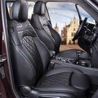Capa de proteção do assento carro envoltório completo couro almofada para bmw mini f54 f55 f56 f60 r56 r60 decoração interior do carro estilo